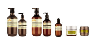 Revitalizing shampoos, conditioners, nourishing hair mask, hydrating cream and shine styling wax